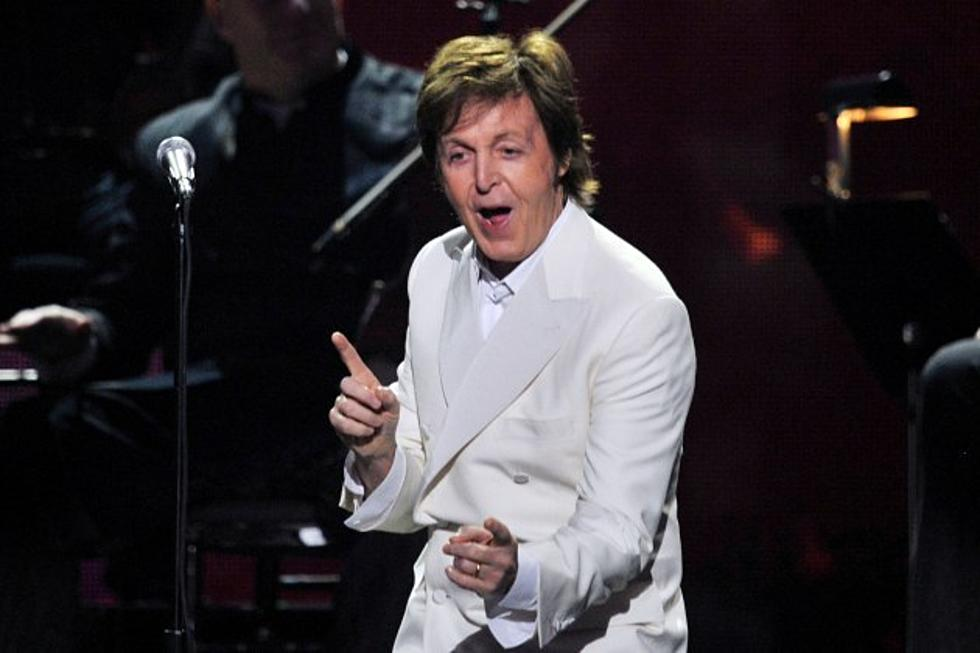 Paul McCartney Wins 2013 Grammy Award For Best Traditional Pop Vocal Album