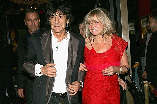 Ron and Jo Wood