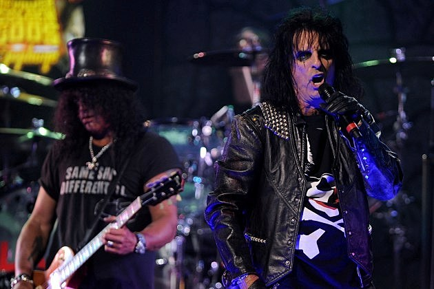 Slash Alice Cooper