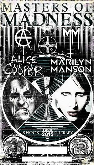 Alice Cooper Marilyn Manson