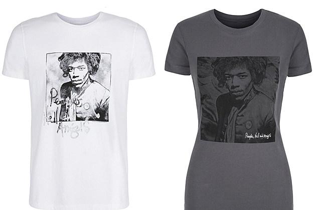 Jimi Hendrix Gap Shirts