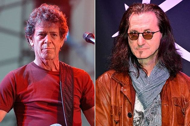 Lou Reed Geddy Lee