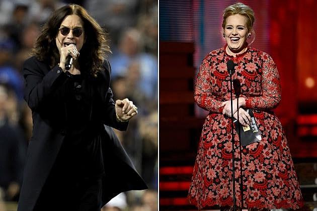 Ozzy Osbourne Adele