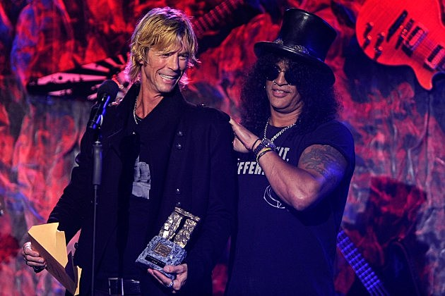 Slash Duff McKagan
