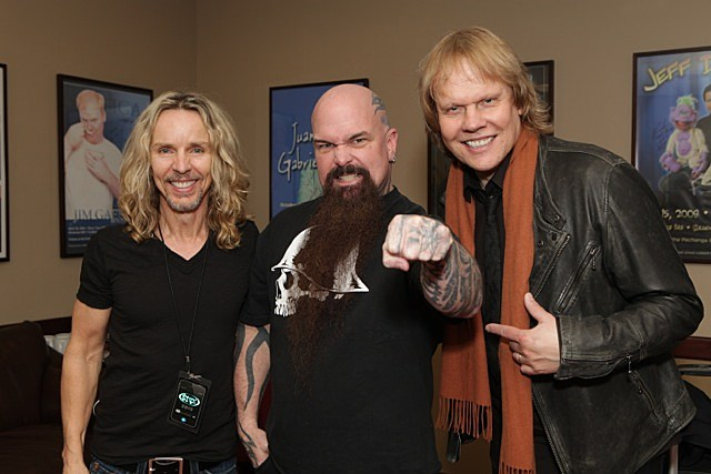 Tommy Shaw, Kerry King, and James Young