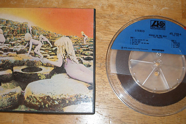 Led Zeppelin House of the Holy Reel-to-Reel