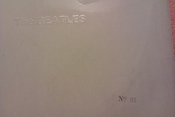 Very Rare No 5 Copy Of Beatles White Album Sells For
