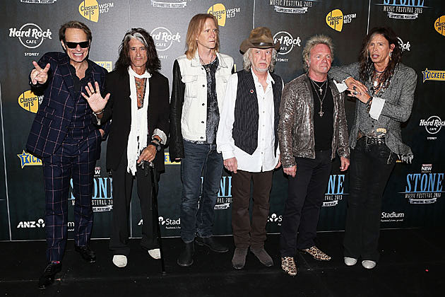 David Lee Roth with Aerosmith