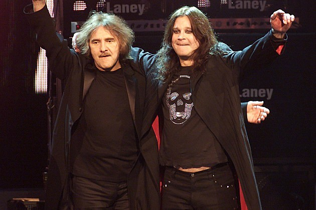 Geezer Butler and Ozzy Osbourne