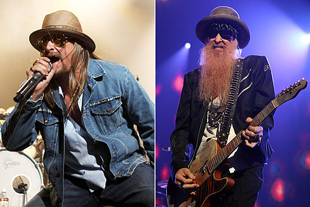 Kid Rock and ZZ Top