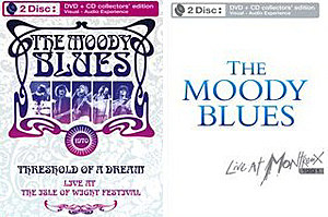 Moody Blues Isle of Wight and Montreux