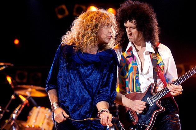 Robert Plant Brian May