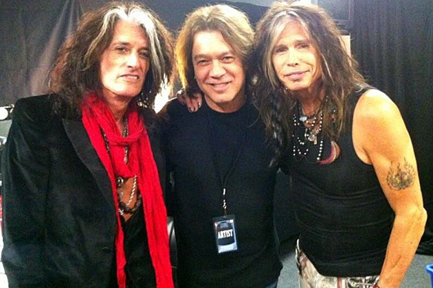 EVH and Aerosmith