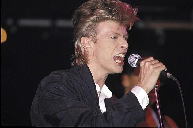David Bowie 1987 Glass Spider Tour