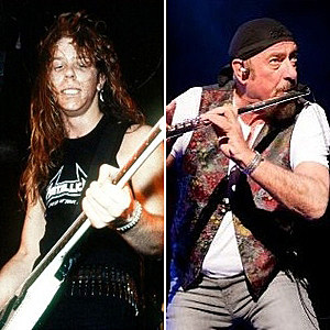 James Hetfield Ian Anderson