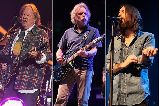 Neil Young Bob Weir Black Crowes
