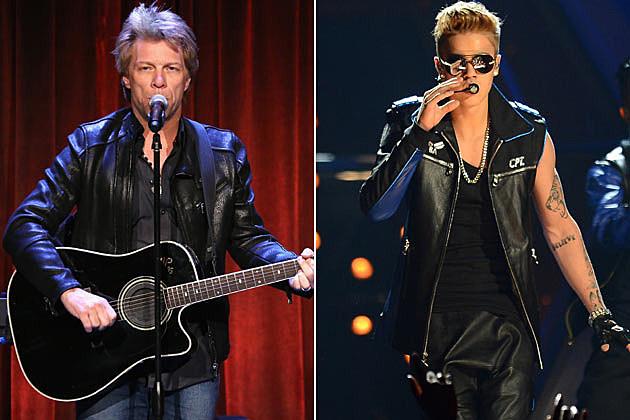 Jon Bon Jovi Justin Bieber
