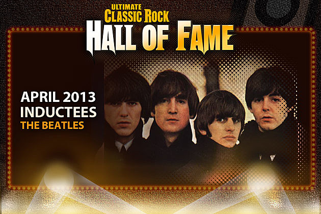 Beatles Ultimate Classic Rock Hall of Fame