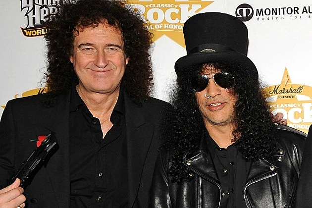 Brian May and Slash