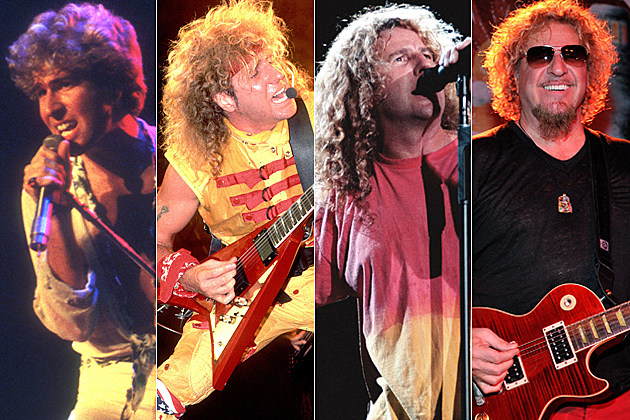 Sammy Hagar Four Decades of Rock