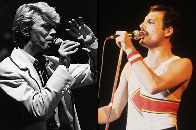 David Bowie Freddy Mercury