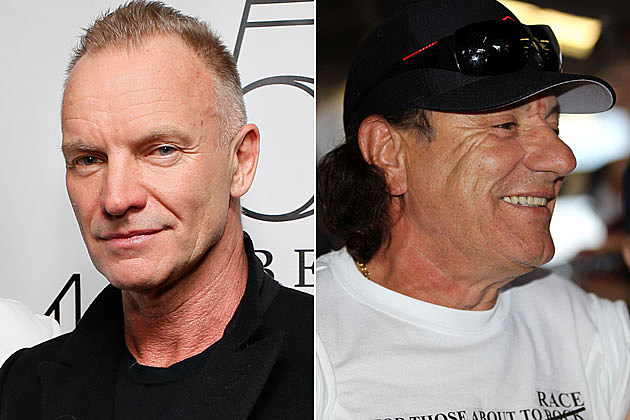 Sting Brian Johnson