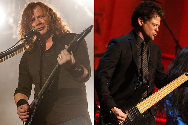 Dave Mustaine Jason Newsted