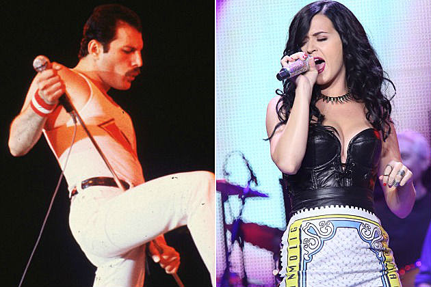 Freddie Mercury and Katy Perry