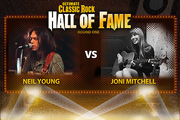 Joni Mitchell Vs. Neil Young