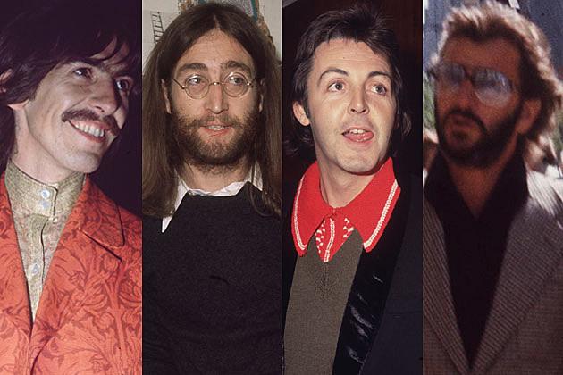 George Harrison John Lennon Paul McCartney Ringo Starr