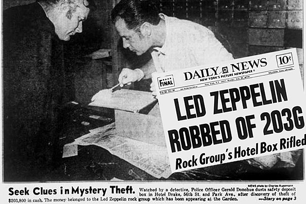 Led Zeppelin Robbed