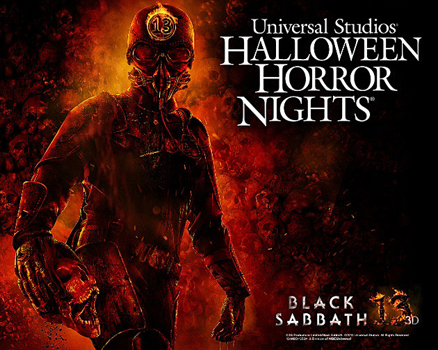 Black Sabbath Halloween Horror Nights
