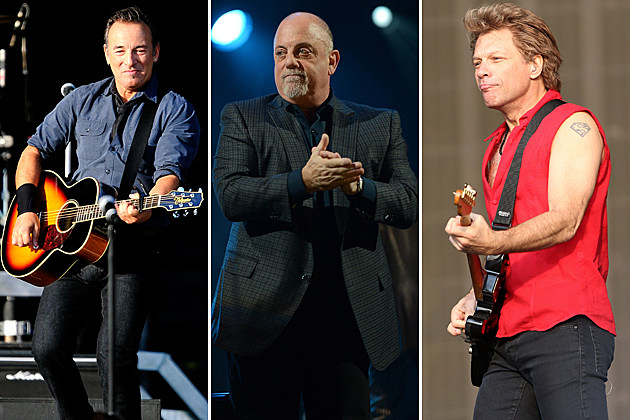 Bruce Springsteen Billy Joel Bon Jovi