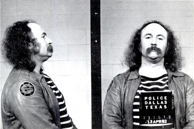 David Crosby Mugshot