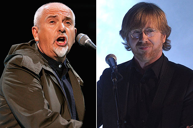 Peter Gabriel and Phish