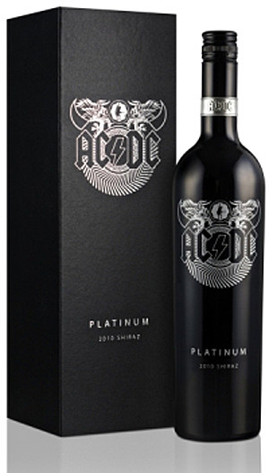 ACDC platinum wine