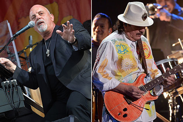 Billy Joel, Carlos Santana