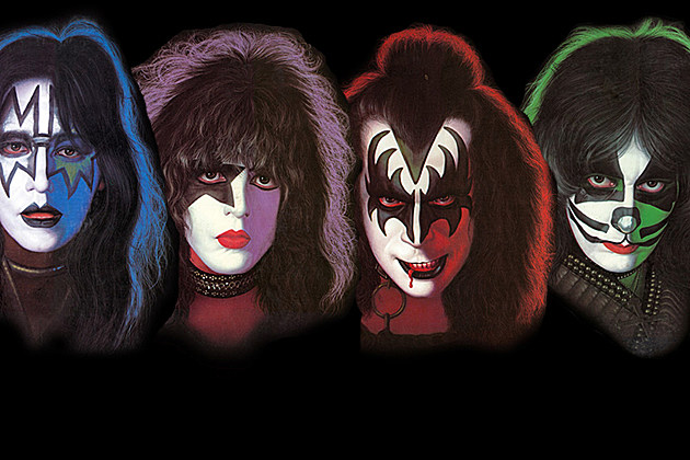 Kiss Solo Album Covers