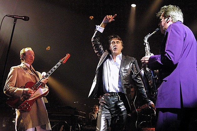 Roxy Music Phil Manzanera Bryan Ferry Andy Mackay