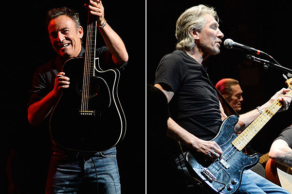 Bruce Springsteen and Roger Waters Perform at Stand Up for Heroes
