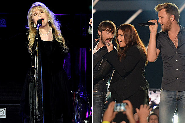 Stevie Nicks and Lady Antebellum