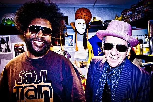 Questlove and Elvis Costello