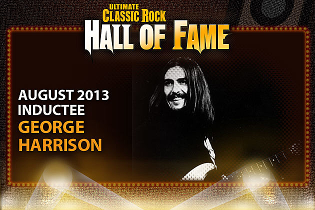 George Harrison Ultimate Classic Rock Hall of FAme