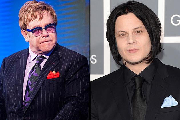 Elton John and Jack White