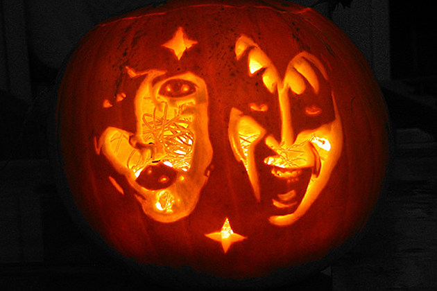 Kiss pumpkin photo gallery happy halloween