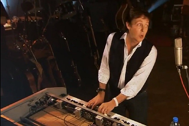 Paul McCartney Mellotron