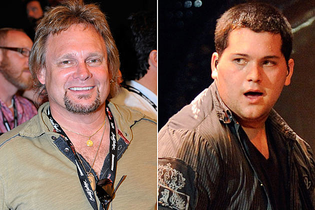 Michael Anthony and Wolfgang Van Halen