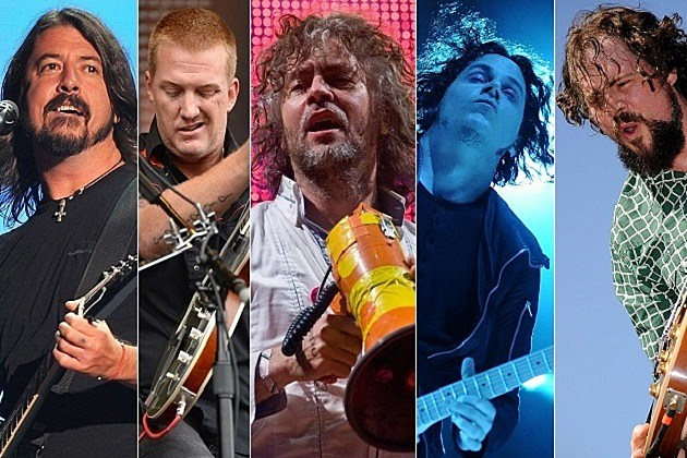 Foo Fighters, Queens of the Stone Age, Flaming Lips, Jack White, Drive-By Truckers