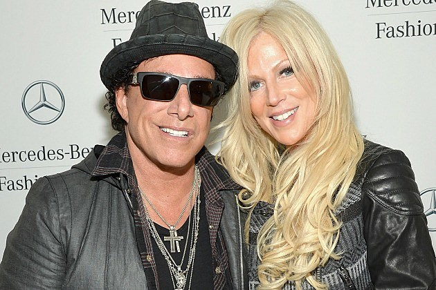 Neal Schon and Michaele Salahi