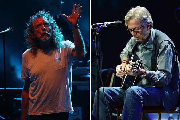 Robert Plant Eric Clapton